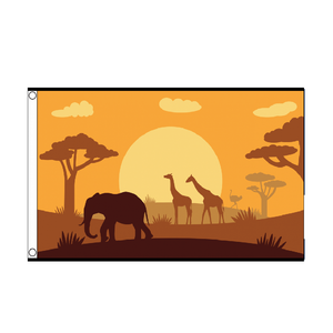 African Animals Flag - Life's a breeze GB Ltd