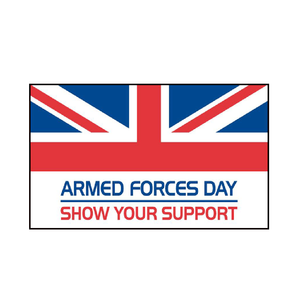 Armed Forces Day Flag. 3ft x 2ft - Life's a breeze GB Ltd