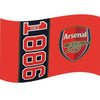 Arsenal Football Flag - Life's a breeze GB Ltd