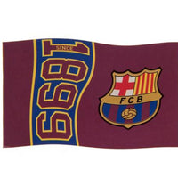 Barcelona Football Flag - Life's a breeze GB Ltd