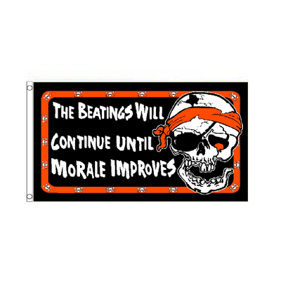 The Beatings will continue Flag - Life's a breeze GB Ltd