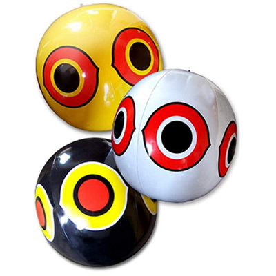 Colorful Bird Scarer Inflatable Ball. - Life's a breeze GB Ltd