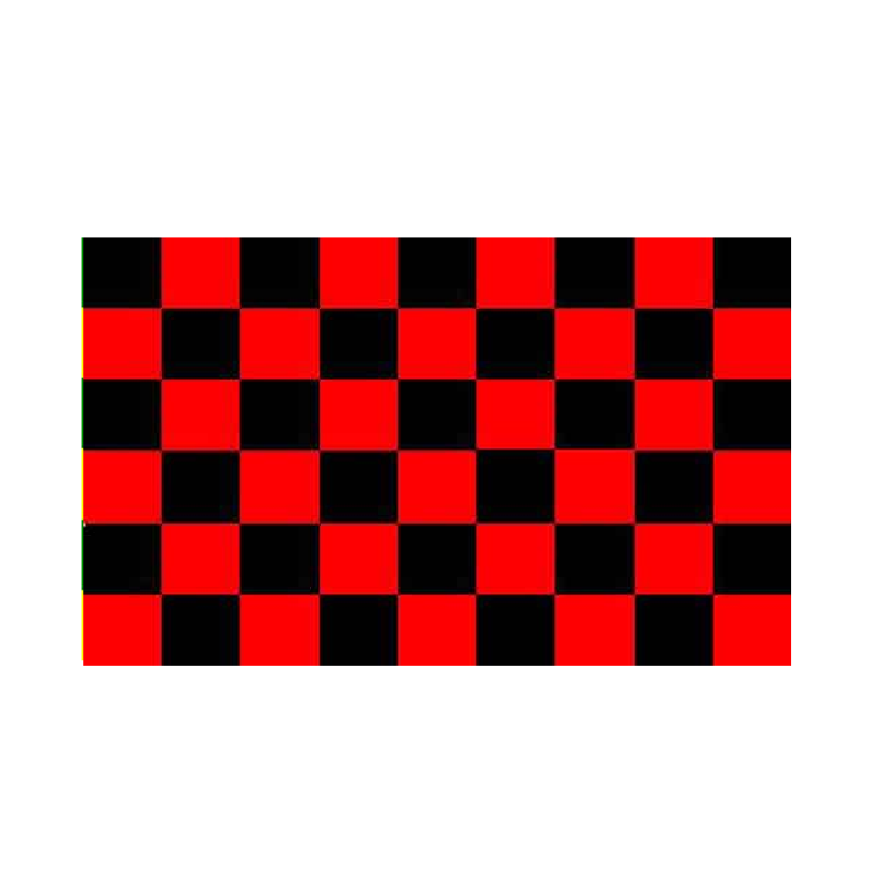 Red And Black Checkered Flag - Life's a breeze GB Ltd