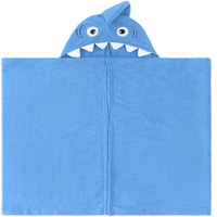 Urban Beach Kids Shark Towel Wrap with Hood