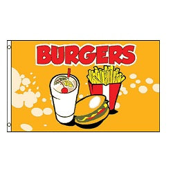 Burger Flag - Life's a breeze GB Ltd