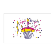 Happy Birthday Cake Flag - Life's a breeze GB Ltd
