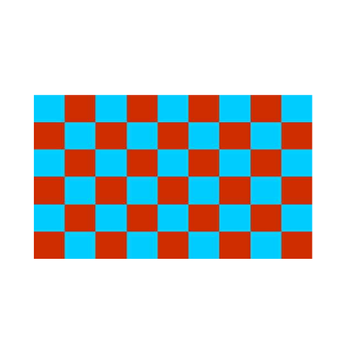 Claret And Blue Checkered Flag - Life's a breeze GB Ltd