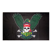 Eagle With Skull Flag - Life's a breeze GB Ltd