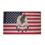 Eagle Dream Catcher Flag - Life's a breeze GB Ltd