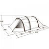 Easy Camp Earth 3 Tent - Life's a breeze GB Ltd