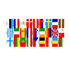 Euro 27 Country Flag - Life's a breeze GB Ltd