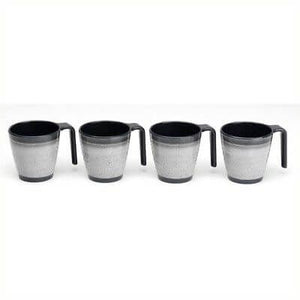 Granite Grey Stacking Mug Set - Life's a breeze GB Ltd
