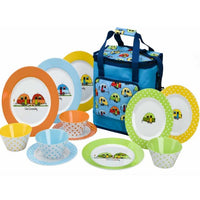 Love Caravanning Dinner Set & Cool Bag - Life's a breeze GB Ltd