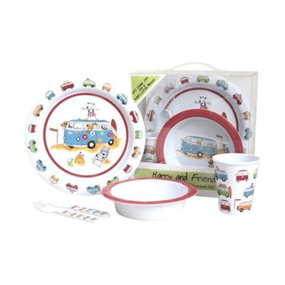 Children's Dinner Set. 5 Piece Dinner Set - Life's a breeze GB Ltd