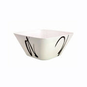 Ink Design Melamine Square Salad Bowl - Life's a breeze GB Ltd