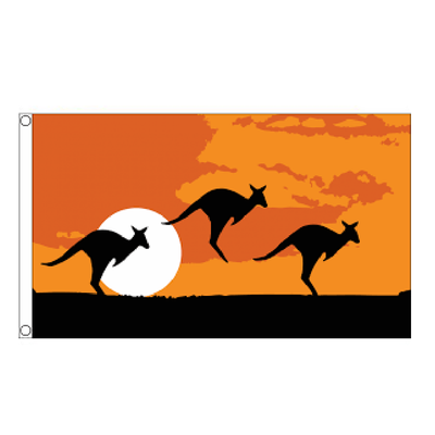 Kangaroo Flag - Life's a breeze GB Ltd