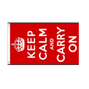 Keep Calm And Carry On Flag - Life's a breeze GB Ltd