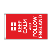 Keep Calm Flag. Keep Calm & Follow England - Life's a breeze GB Ltd