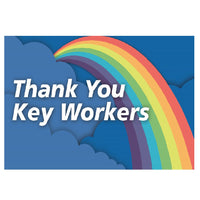 Support Our Key Workers Flag - Life's a breeze GB Ltd