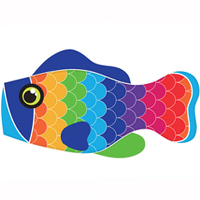 Life's a breeze Rainbow Scales Fish Windsock - Life's a breeze GB Ltd