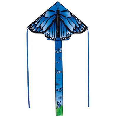 Blue Butterfly Swarm Diamond Kite - Life's a breeze GB Ltd