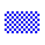 Blue And White Checkered Flag - Life's a breeze GB Ltd