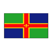 Lincolnshire Flag. 3ft x 2ft Flag - Life's a breeze GB Ltd