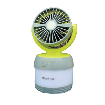 3 in 1 LUMI Fan USB Lantern/Fan/Spotlight.Outdoor Revolution - Life's a breeze GB Ltd