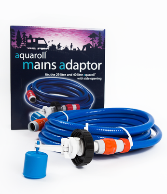 Aquaroll Mains Adaptor - Life's a breeze GB Ltd
