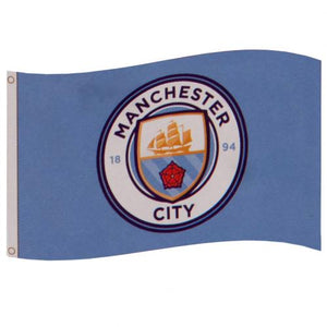 Manchester City Football Flag - Life's a breeze GB Ltd