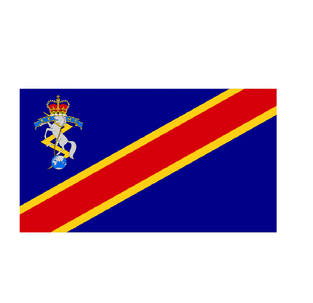 Royal Electrical and Mechanical Engineers Flag - Life's a breeze GB Ltd