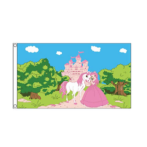 Princess Pony Castle Flag - Life's a breeze GB Ltd