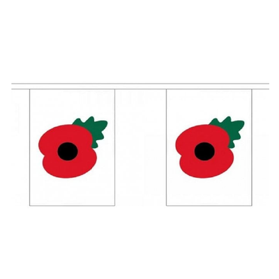 Poppy Bunting. 9 Meters - Life's a breeze GB Ltd
