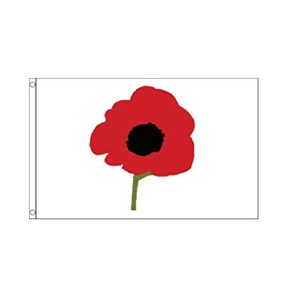 Poppy Flag - Life's a breeze GB Ltd