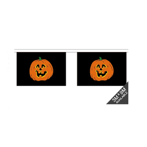 Pumpkin Bunting. 9 Meters - Life's a breeze GB Ltd