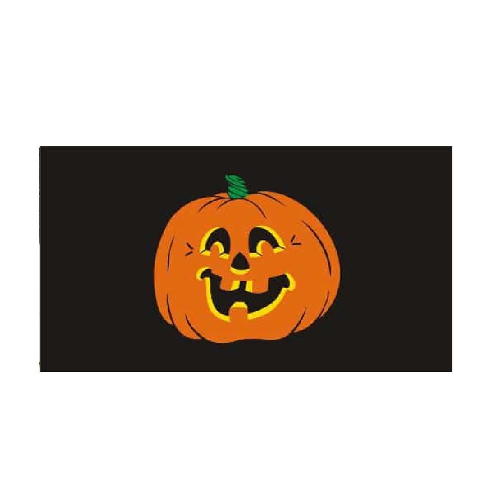 Halloween Flag. Pumpkin Face - Life's a breeze GB Ltd