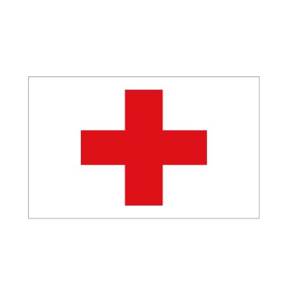Red Cross. First Aid Flag - Life's a breeze GB Ltd