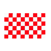 Red And White Checkered Flag - Life's a breeze GB Ltd