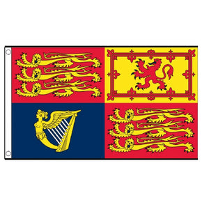 Royal Standard England Flag. Three Foot  x Two Foot. - Life's a breeze GB Ltd