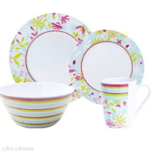 Petites Fleurs Dinner Set - Life's a breeze GB Ltd