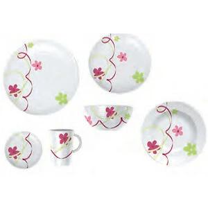 Folia Melamine Dinnerware (20 Piece) - Life's a breeze GB Ltd