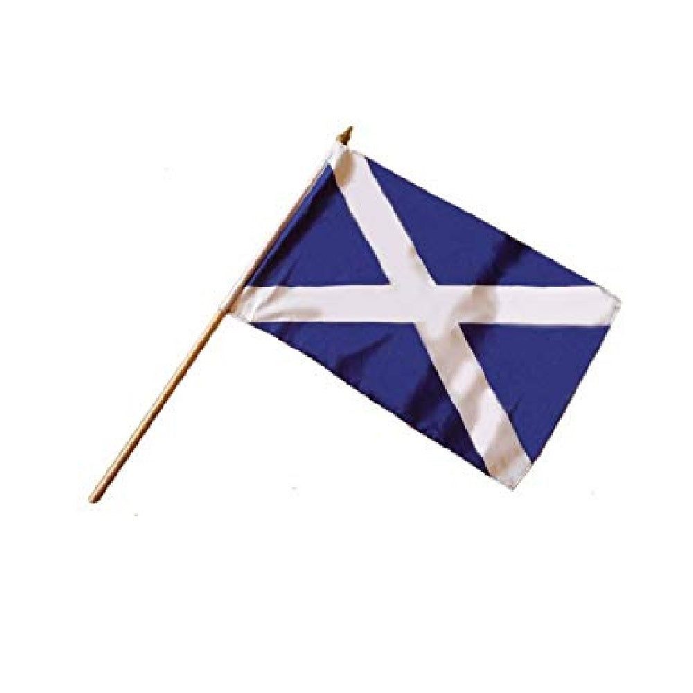 Hand Waving Flags. Scottish - Life's a breeze GB Ltd