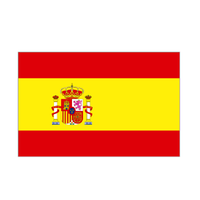 Spanish Flag. Spain With Crest - Life's a breeze GB Ltd