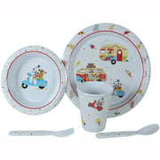 Children's Dinner Set. Sparky & Friends Melamine Dinner Set. - Life's a breeze GB Ltd