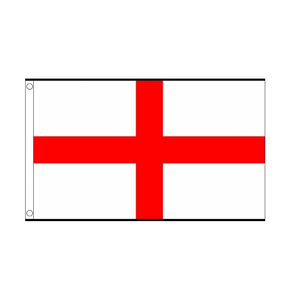 St George Large Flag. 8ft x 5ft - Life's a breeze GB Ltd
