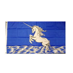 Unicorn Flag. (Blue Style) - Life's a breeze GB Ltd