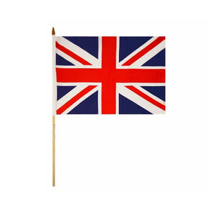 Hand Waving Flags. Union Jack - Life's a breeze GB Ltd