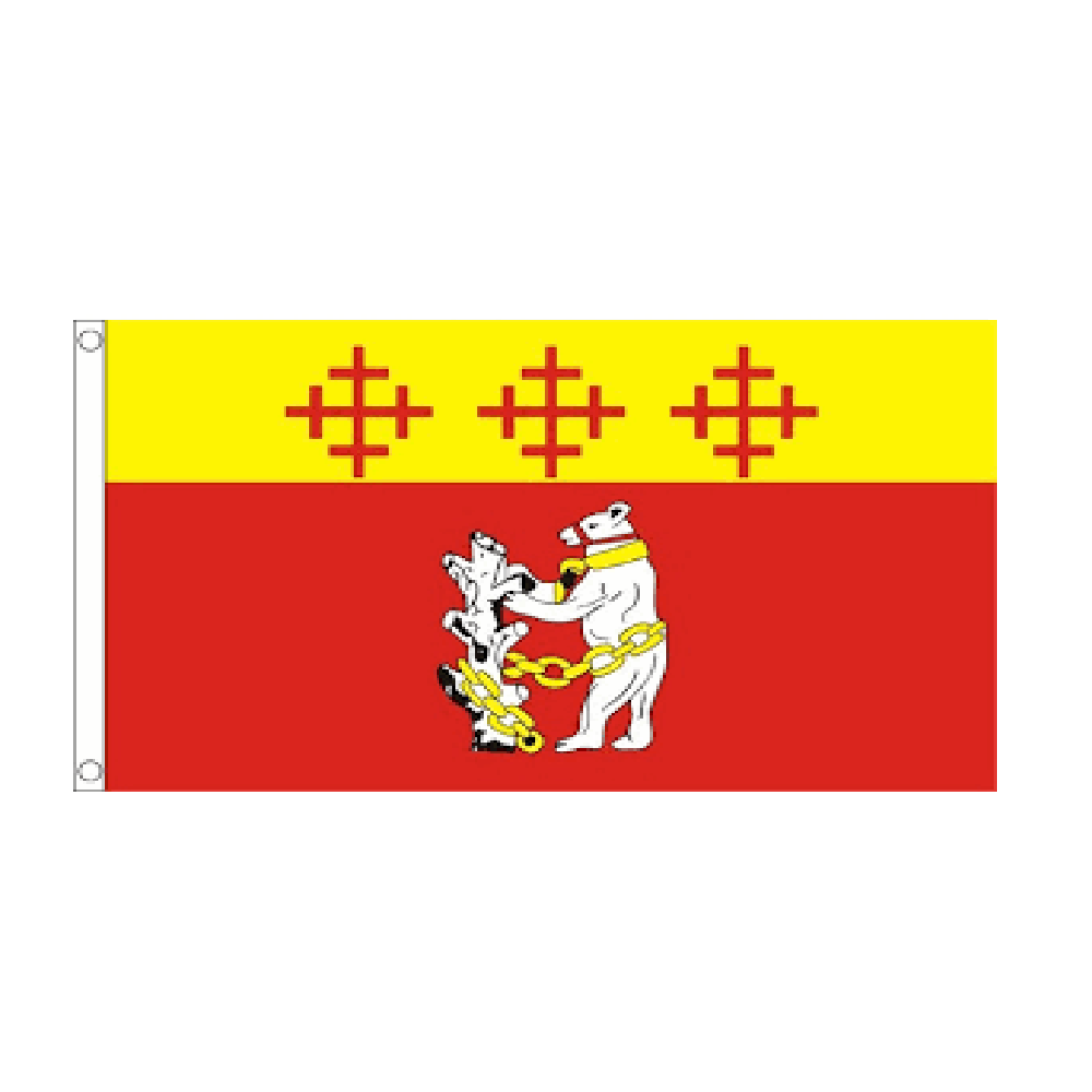 Warwickshire Flag (old) - Life's a breeze GB Ltd