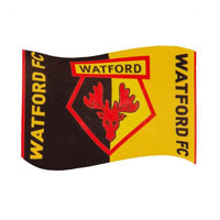 Watford FC Football Flag 5ft x 3ft - Life's a breeze GB Ltd