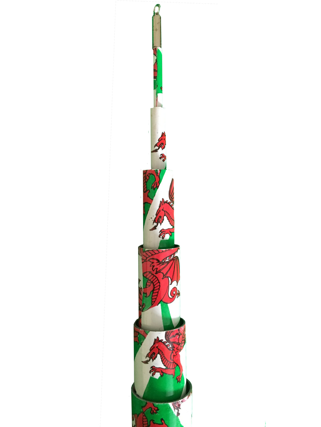Life's a breeze Ultimate Performance Welsh Telescopic Flag Pole (6m) - Life's a breeze GB Ltd